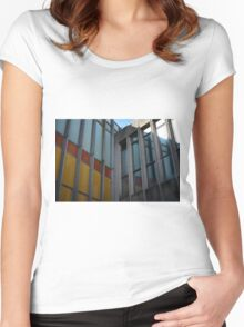 Old City Building Women's Fitted Scoop T-Shirt