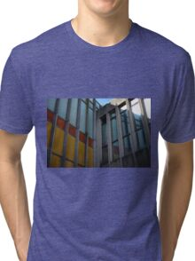 Old City Building Tri-blend T-Shirt