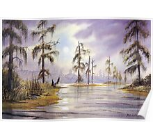 Sunrise Over Wakulla River Florida Poster