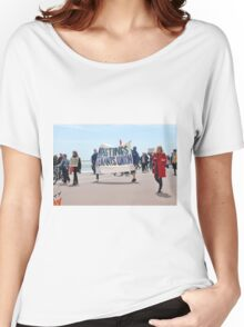 Austerity march, Hastings Women's Relaxed Fit T-Shirt