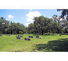 The Cemetery ll Photographic Print
