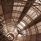 QVB Roof in Sepia by Mark Kent