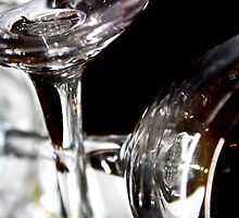 Wine Glasses Intertwined. by katielovesphoto