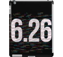 6.26 Rules iPad Case/Skin