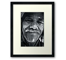Mr Happy Framed Print