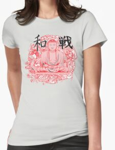 goutom buddho design t-shirt Womens Fitted T-Shirt