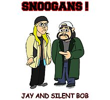 Snoogans Jay and Silent Photographic Print