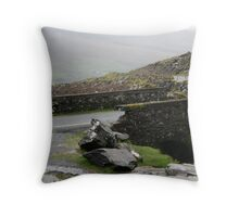 Bridge on Connor pass, Dingle Throw Pillow