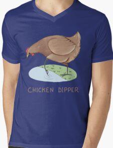 Chicken Dipper Mens V-Neck T-Shirt
