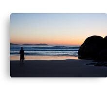 Sunset gazing Canvas Print
