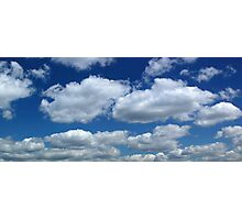Cloudscape over Loampit Vale Photographic Print