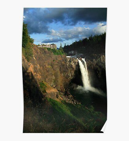 Snoqualmie Falls, Washington, USA Poster
