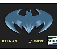 Bat-Credit Card by Lazard