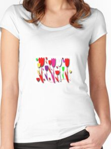 i❤tulips Women's Fitted Scoop T-Shirt