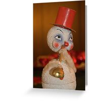 Louis Armstrong the Snowman Greeting Card