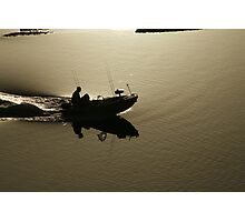 going fishing Photographic Print