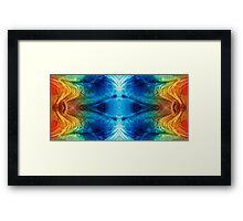Colorful Abstract Art Pattern - Color Wheels - By Sharon Cummings Framed Print