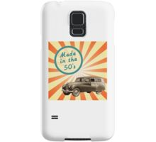 Made in the 50s Samsung Galaxy Case/Skin