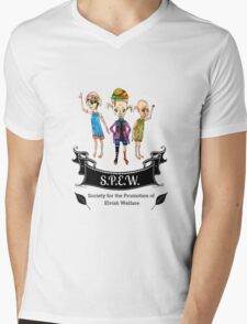 Society for the Promotion of Elvish Welfare Mens V-Neck T-Shirt