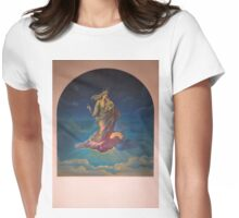 Mural in Church at Azogues Ecuador Womens Fitted T-Shirt