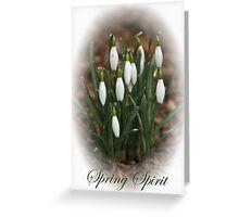 Spring Spirit Greeting Card