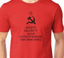 Continue working Unisex T-Shirt