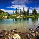 Mountain Lake, Mt Rainier National Park by Jonicool