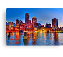 Boston Harbor Canvas Print