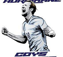 Harry Kane: HURRIKANE by footballistics