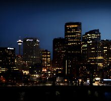 Calgary Skyline by Angela E.L. Clements