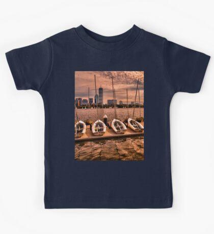 Charles River, Boston MA, USA Kids Tee