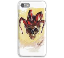 joker skull iPhone Case/Skin