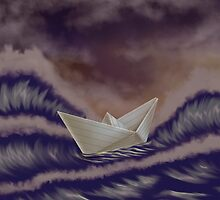 The Sea in Storm by lisif