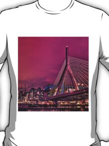 Zakim bridge, Boston MA T-Shirt