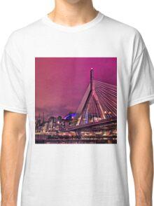 Zakim bridge, Boston MA Classic T-Shirt