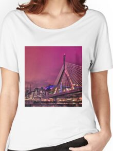 Zakim bridge, Boston MA Women's Relaxed Fit T-Shirt