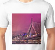 Zakim bridge, Boston MA Unisex T-Shirt