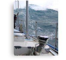 following sea Canvas Print