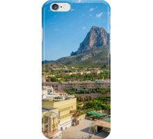 Finistrat and Puig Campana iPhone Case/Skin