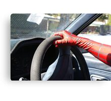who said spider man cant drive Canvas Print