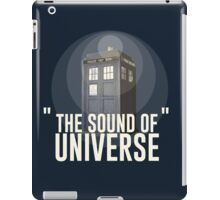 The Sound of Universe iPad Case/Skin