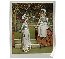 Kate Greenaway Collection 1905 0148 Bubbles Poster