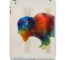 Buffalo Animal Print - Wild Bill - By Sharon Cummings iPad Case/Skin