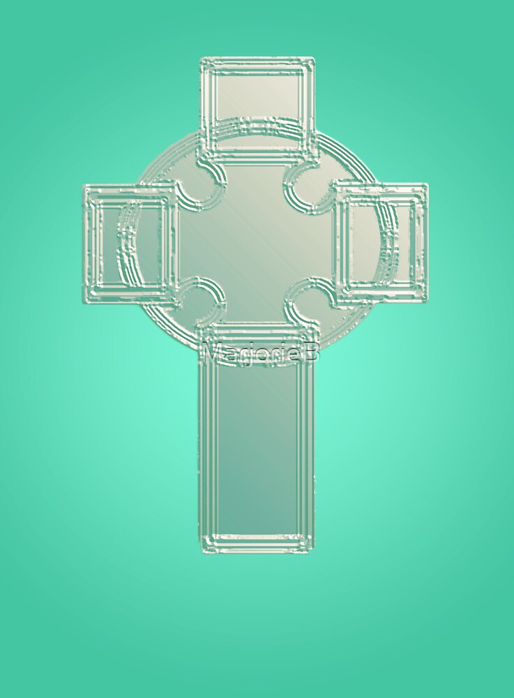 Celtic cross No. 4 by MarjorieB