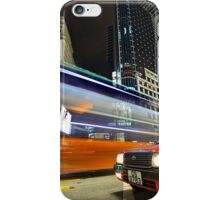 HK Taxi at Sogo iPhone Case/Skin