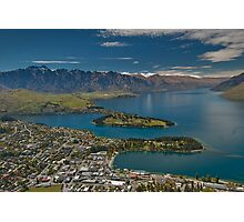Lake Wakatipu at Queenstown Photographic Print