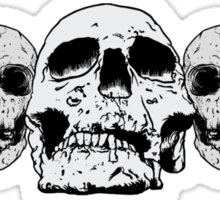 Faces of Death Sticker