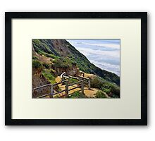 Tony's Cliff Framed Print