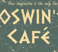 Oswin's Cafe Sticker