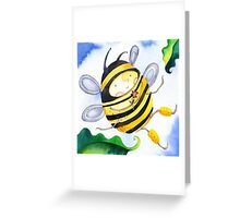 Billy Bumble Greeting Card